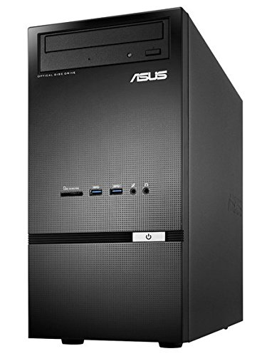 ASUS Desktop PC K30AD-IT012S, Processore Intel Celeron G1820, RAM 4 GB, Hard Disk 500 GB, Nero/Antracite
