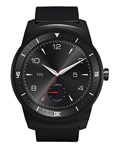 LG W110 G Watch R Smartwatch, Nero