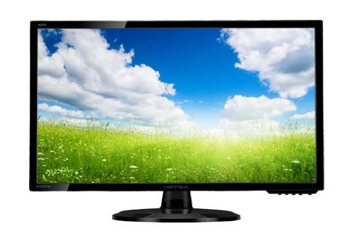 Hanns.G HL272HPB LED Monitor, 27 Pollici, Wide, 16:9, HDMI, DVI, Black Glossy
