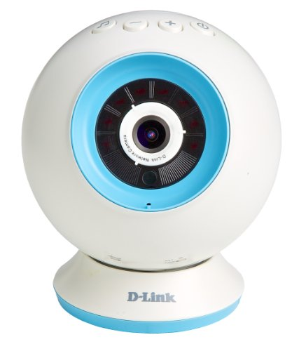 D-Link DCS-825L Wi-Fi EyeOn Baby Camera con Mydlink Cloud, Bianco