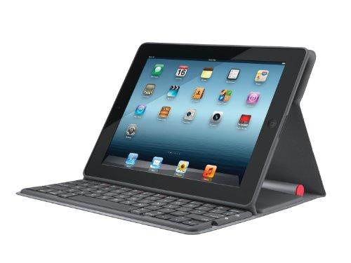 Logitech Solar Keyboard Folio,Tastiera Cover x Ipad, Versione Italiana QWERTY