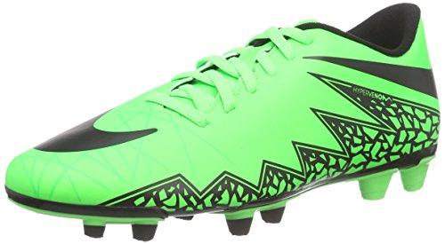 Nike Hypervenom Phade II Fg, Scarpe sportive, Uomo, Verde (Green Strike/Black-Black), 42
