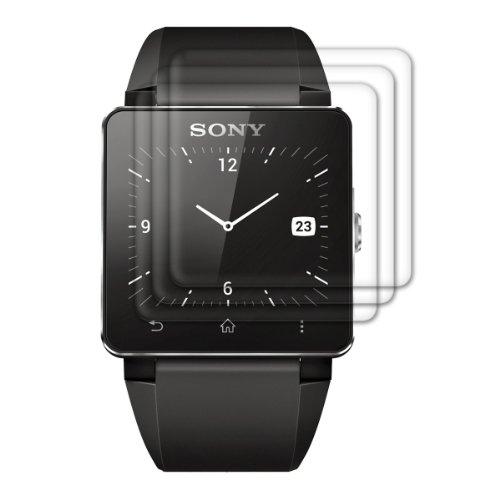 3x pellicola protettiva display per Sony Smartwatch 2 TRASPARENTE - qualità premium firmata kwmobile