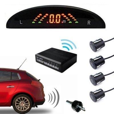 Kit sensori di parcheggio con display acustico wireless (Cod.:3409)
