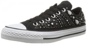 Converse, Chuck Taylor All Star Hardware OX, Sneaker, Unisex - adulto, Nero (Noir), 38