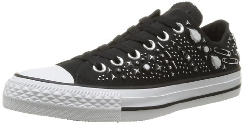 Converse, Chuck Taylor All Star Hardware OX, Sneaker, Unisex - adulto, Nero (Noir), 38