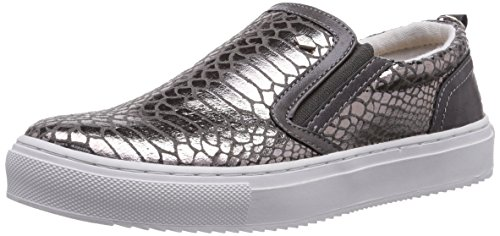 British Knights Chip, Low-Top Sneaker donna, Grigio (Grau (Grey Snake 06)), 40