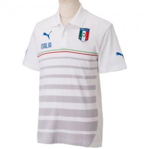 Puma - Polo Ufficiale della Nazionale Italiana Bianca 2014-15 - Web ... da070aa717ea5