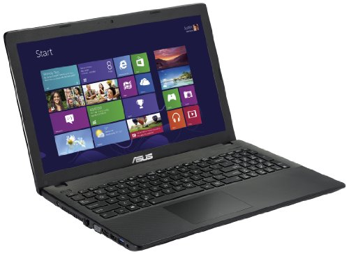 Asus X551CA-SX030H Notebook, Display LCD 15.6 Pollici LED, Processore Intel 2117U 1.80 GHz. RAM 4 GB, HDD 500 GB, Windows 8, Nero