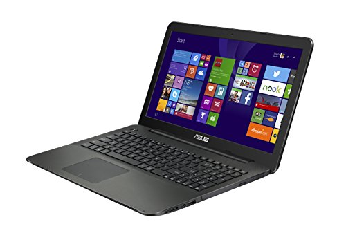 Asus X554LA-XO496H Notebook, Display 15.6 Pollici con Risoluzione 1366x768 LED, Processore Intel Corei3-4030U, RAM 4 GB, Hard Disk 500 GB, Nero/Antracite