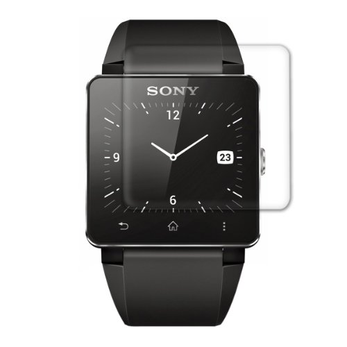 Pellicola protettiva trasparente per display Sony Smartwatch 2 - Qualità premium firmata kwmobile