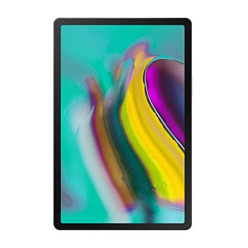 """Samsung Galaxy Tab S5e (2019) Tablet, 10.5"""" SuperAMOLED, 64 GB Espandibili, Batteria 7040 mAh (Ricarica Rapida), LTE, Silver, [Versione Italiana]"""