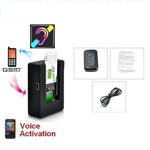 MICROSPIA N9 AMBIENTALE CIMICE AUDIO GSM VOX ATTIVAZIONE VOCALE PICCOLISSIMA SPY