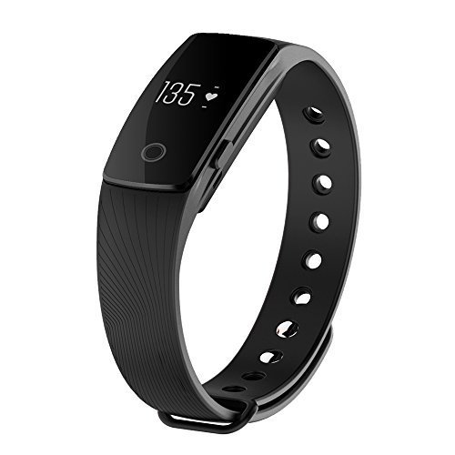 """Braccialetto Fitness, CICMOD Multifunzione Bluetooth Bracciale Intelligente """"Touch"""" Sports Braccialetto Smart Orologio Tracker Impermeabile IP67"""