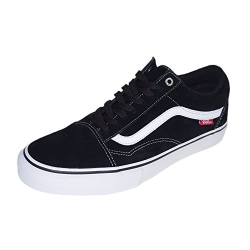VANS OLD SKOOL '92 PRO BLACK WHITE RED FW 2015-US 11 EUR 44.5 CM 29