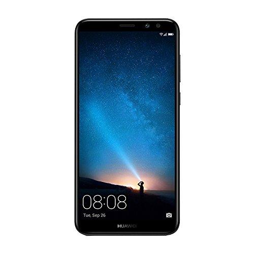 Huawei 774280 Mate 10 Lite Smartphone da 5,9 Pollici, 64 GB ROM, 4Gb RAM, Camera da 16 MP, 4G LTE, Singola Sim, Nero (Graphite Black)