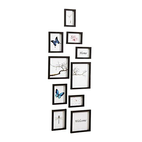 Nielsen Design Nielsen 10 Piece Frame Set black Plastic Mobile Rack 8999176