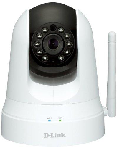 D-Link DCS-5020L Videocamera di Sorveglianza Cloud Wireless N Day&Night, Range Extender, Pan/Tilt/Zoom, Bianco