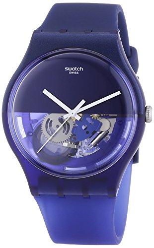 Swatch - Orologio da polso, analogico al quarzo, plastica