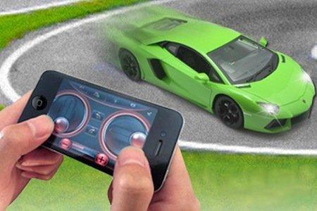 Lamborghini telecomandabile da smartphone bluetooth
