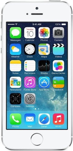 Apple iPhone 5S Smartphone, 16GB, Argento [Italia]