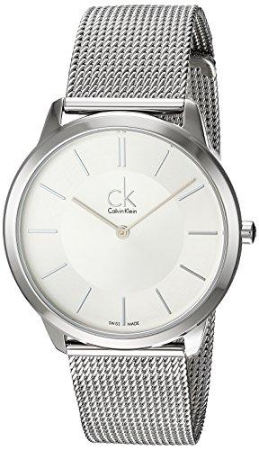 Calvin Klein Orologio da Uomo Analogico al Quarzo con Cinturino in Acciaio Inox – K3M21126