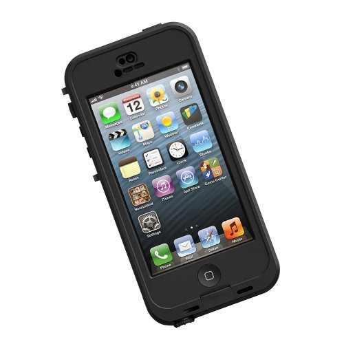 LifeProof - Custodia per  Apple iPhone 5s , Nero/ Grigio fumo