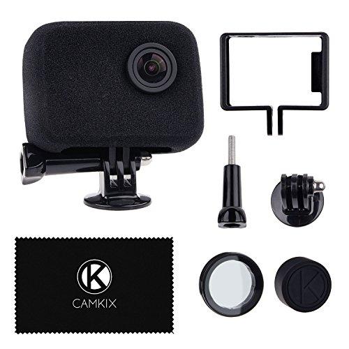 c097dbeb95 Parabrezza e Sostegno per la tua Telecamera GoPro Camera - Riduce il Rumore  del Vento per una ...
