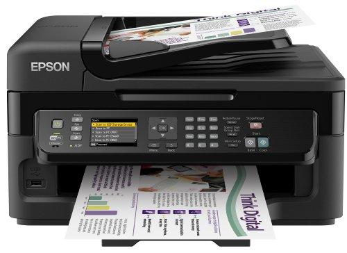 Epson WF-2540WF Multifunzione Ink-Jet a Colori, Funzione Stampa, Copia, Fax e Scansione
