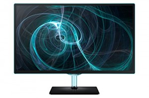 "Samsung T24D390EW  Monitor 24"", Nero"