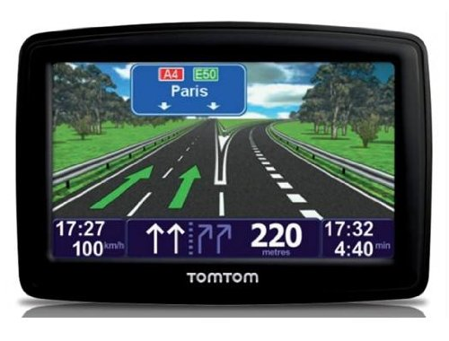 """TomTom XXL Classic Europa 23 Paesi, 5"""", Map Share, IQ Routes, Riproduzione Vocale, Avvisi Autovelox, Indicatore di Corsia"""