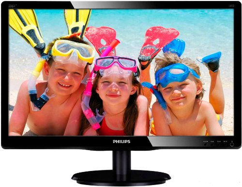 Philips 226V4LAB LCD Monitor 21.5 ""