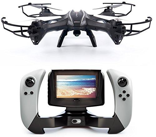 Günther Groß Electronic - Drone quadrirotore radiocomandato UDI U842 LARK FPV con videocamera HD e trasmissione delle immagini in tempo reale