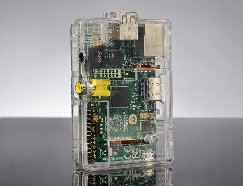 SB Custodia protettiva (clear) per Raspberry Pi Computer