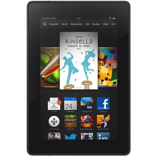 """Kindle Fire HD 7"""", schermo HD, Wi-Fi, 16 GB - Con offerte speciali"""