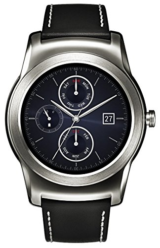 LG Watch Urbane Smartwach, Display P-OLED 1.3'', Argento