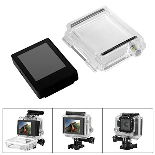Fantaseal Accessori Set per GoPro LCD BacPac / GoPro schermo LCD Display + GoPro backdoor Hero3 backdoor alloggi per GoPro Hero3