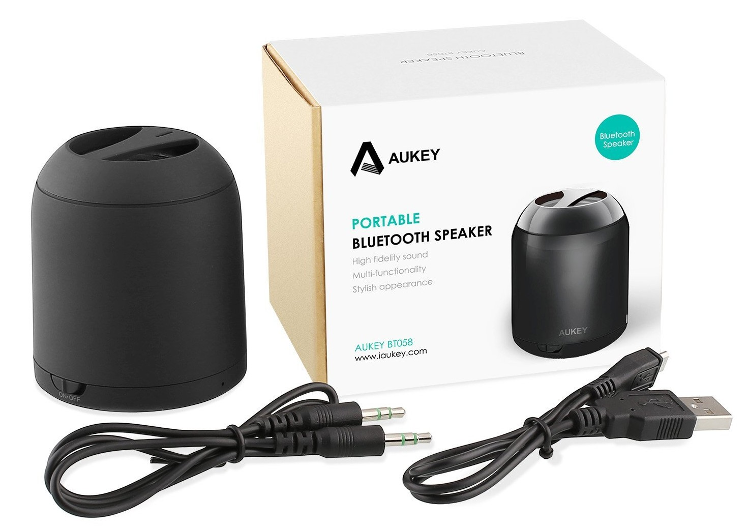 Aukey-BT058 Ultra Mini_Portable